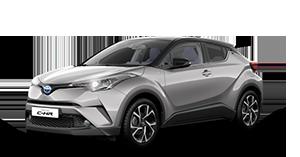 Toyota C-HR - Concessionario Toyota a Curno, Treviglio e Seriate