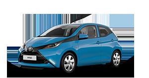 Toyota AYGO - Concessionario Toyota a Curno, Treviglio e Seriate